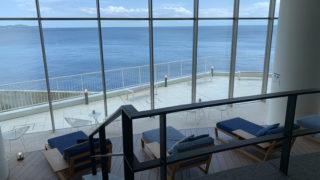 オーシャンスパFuuaから見た相模湾