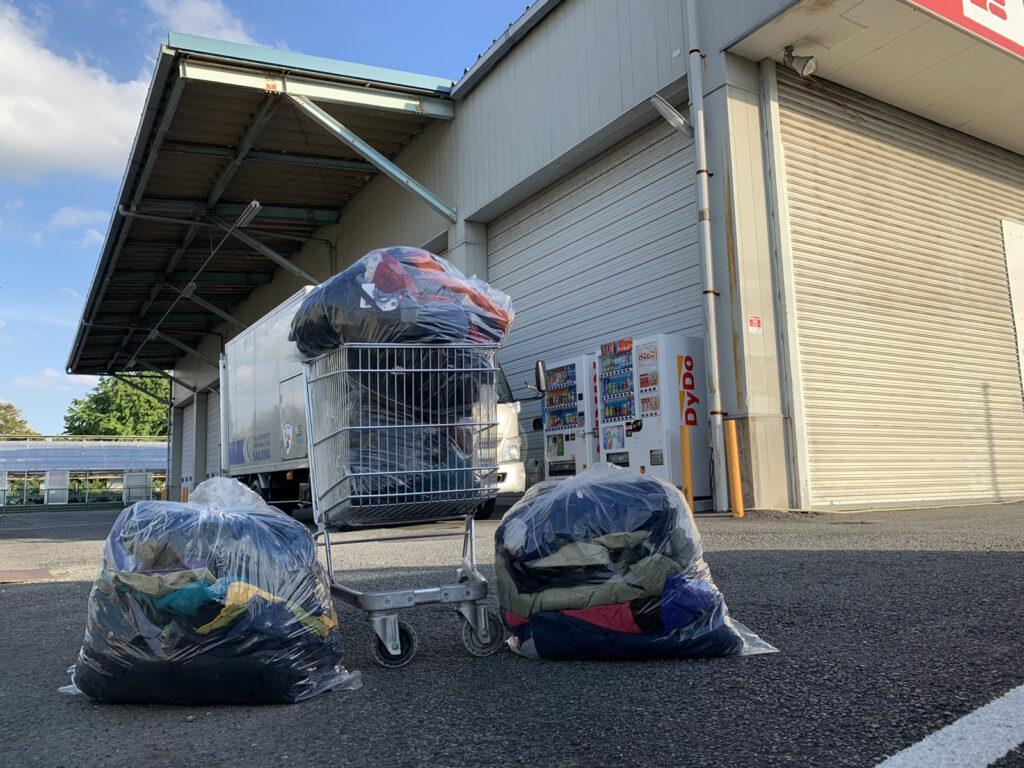 3peace平塚倉庫で仕入れた23万円分の古着
